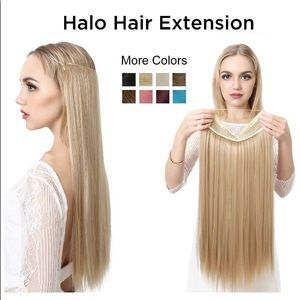 NEW: Halo Hair Extensions synthetic 22 inches